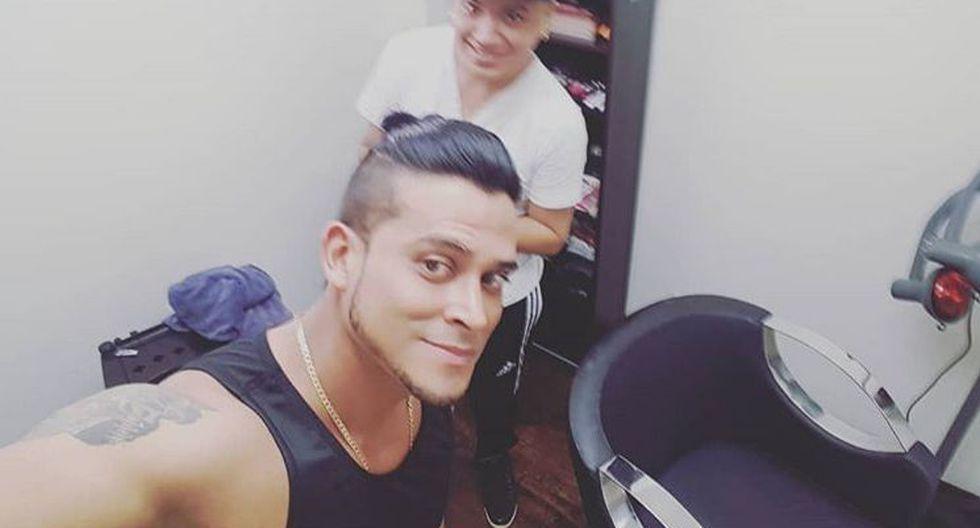 Cumbiambero defendió a su pareja Isabel Acevedo. (Instagram/@Christian Domínguez)