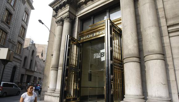 Bolsa de Valores de Lima cayó este martes en un 5%. (Foto: GEC)