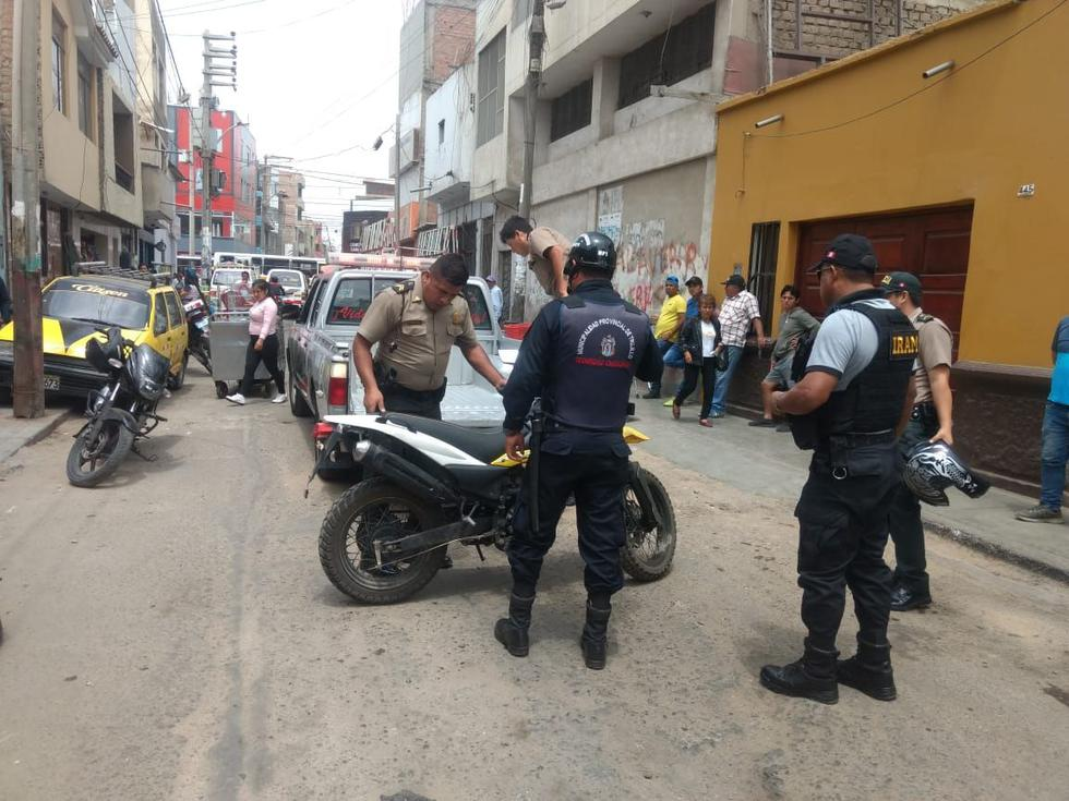 Balacera en Trujillo.