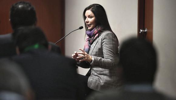 Habló fuerte. Periodista de investigación declaró por dos horas. (CesarCampos/Perú21)