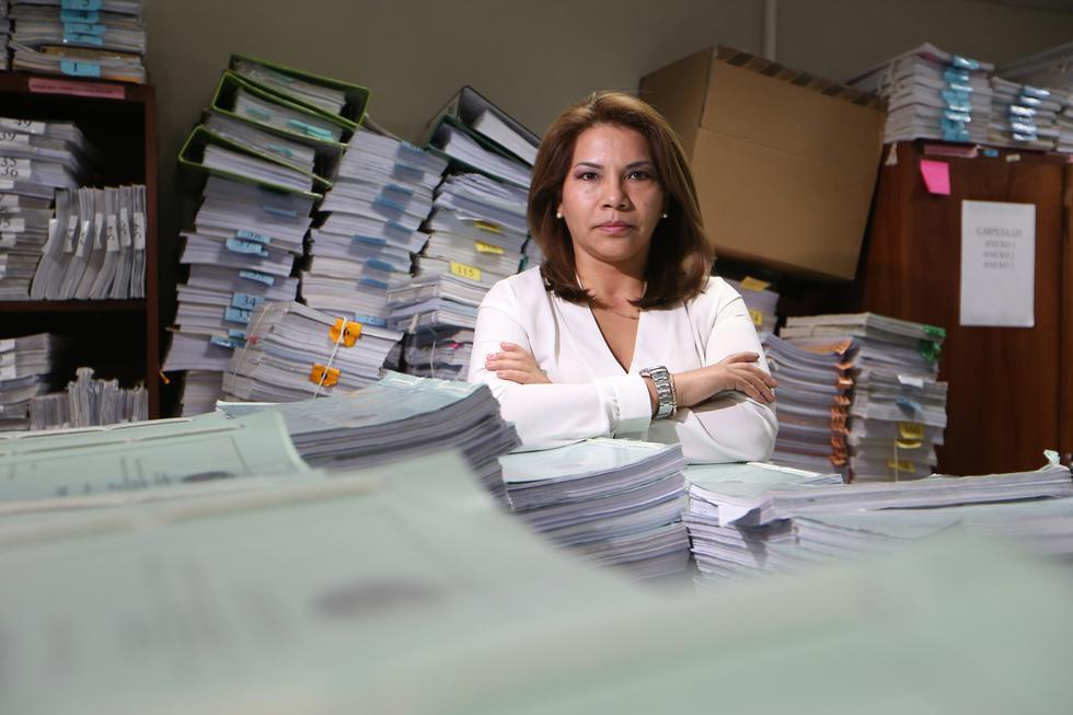 """Marita Barreto sobre caso Orellana: """"Es el más complejo de la historia del país"""" (Foto: Manuel Melgar/ GEC)"""