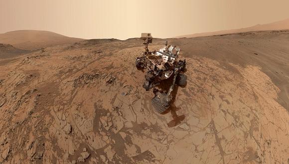 Imagen del Curiosity explorando Marte. (Foto: Nasa)