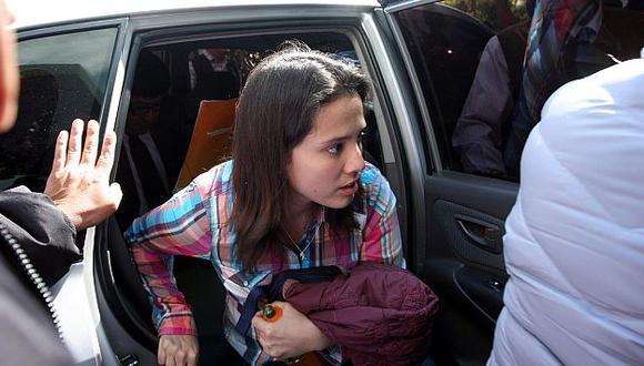Vigilarán a Rosario Ponce para que no sea agredida. (Heiner Aparicio)