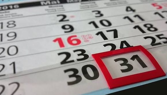 ¿Cuantos feriados le quedan al año 2019? A continuación de lo detallamos. (Foto: Pixabay)