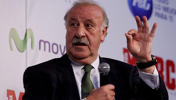El seleccionador de España dio la lista en conferencia de prensa. (EFE)