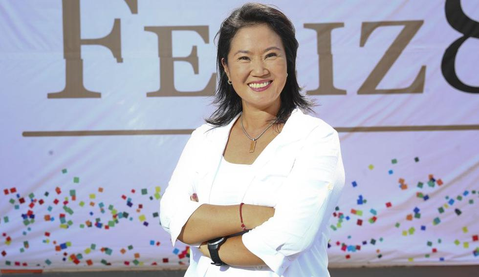 """""""Este es un momento para estar unidos"""", escribió Keiko Fujimori."""