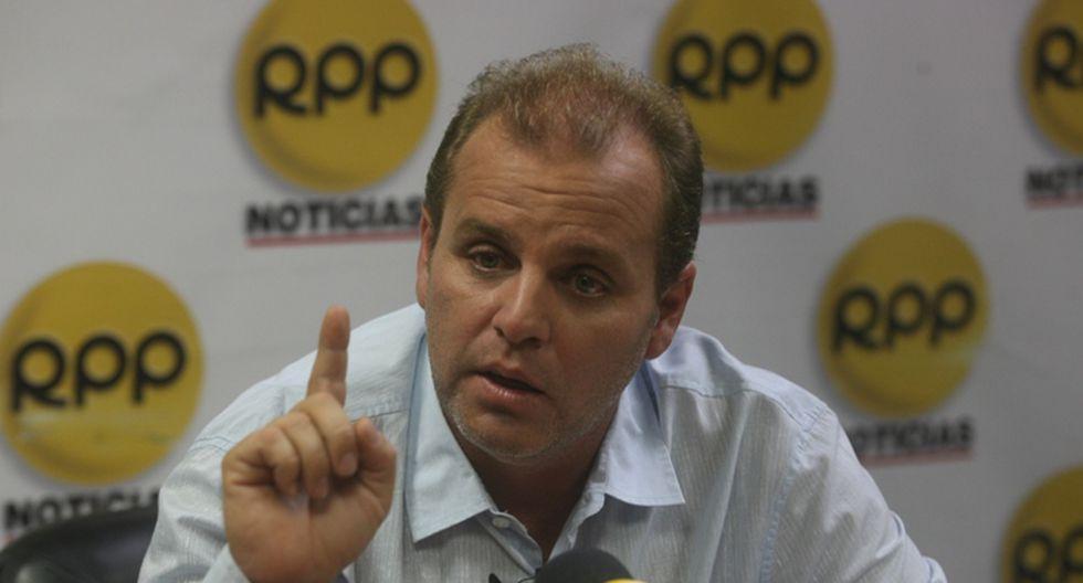 José Antonio Nava, hijo de Luis Nava. (Foto: RPP)