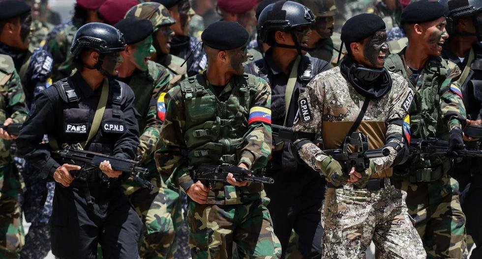 Maduro anuncia ejercicios militares en frontera para el 24 de julio.(Foto: EFE)