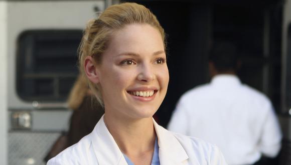 """Katherine Heigl alcanzó la fama como Izzie Stevens en """"Grey's Anatomy"""". (Foto: ABC)"""