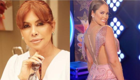 """Magaly Medina a Karen Schwarz por decir que no fracasó en la televisión: """"Está de arrimada en Yo Soy"""". (Foto: Instagram)"""