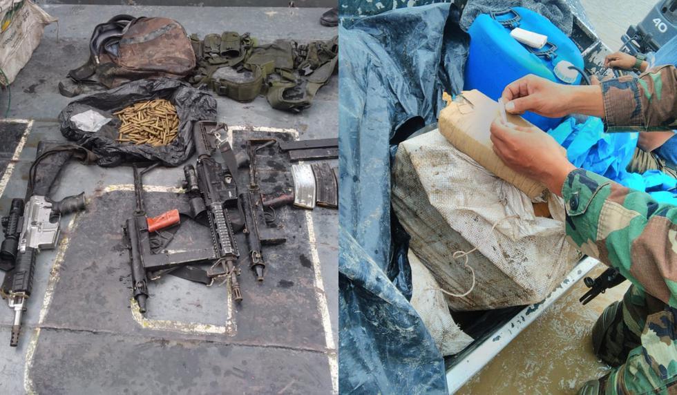 En el operativo fallecieron dos delincuentes. (Marina de Guerra del Perú)