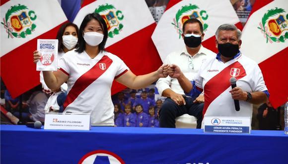 César Acuña inició la 'Cruzada por el Perú' en apoyo a la candidatura de Keiko Fujimori (GEC).