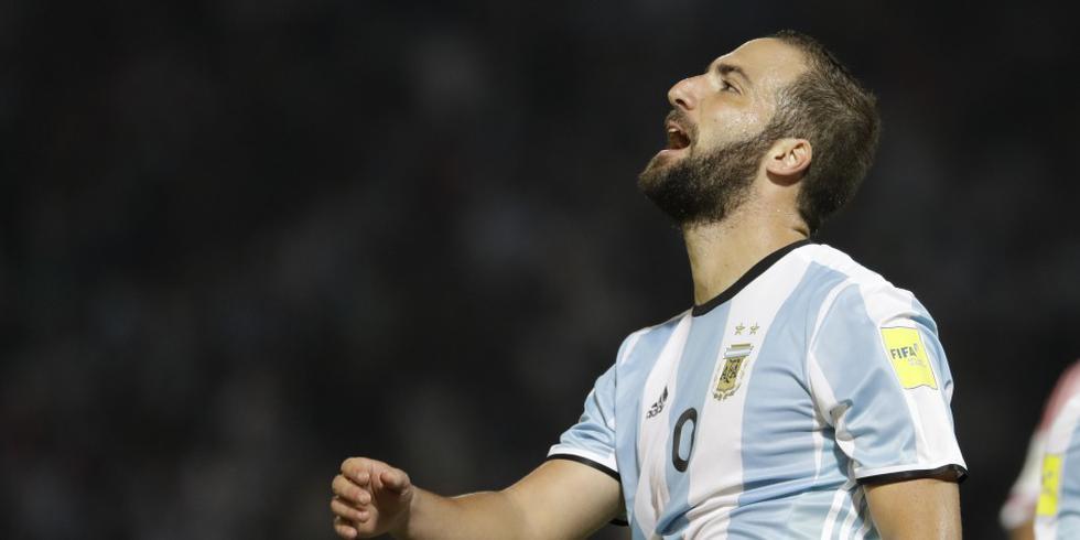 Gonzalo Higuaín jugó tres partido con Argentina en la pasada Copa del Mundo (Foto: AP).