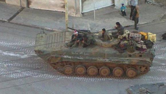 AL ATAQUE. Ofensiva de Assad contra civiles rebeldes no se detiene. (AP)