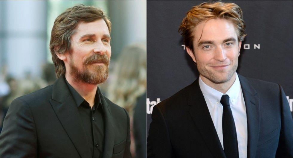 Christian Bale respalda elección de Robert Pattinson como el nuevo Batman. (Foto: AFP)
