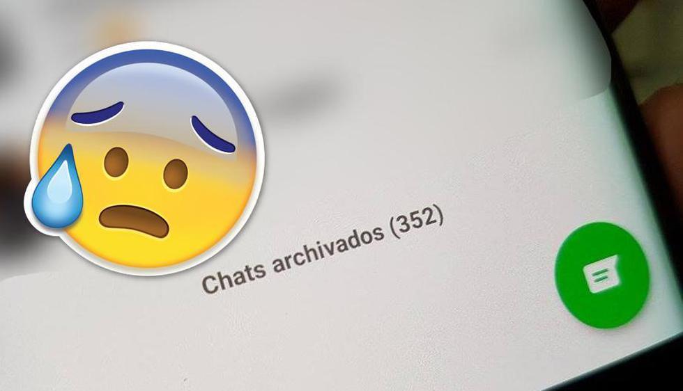 Este es el motivo por el que no debes de 'archivar' tus conversaciones de WhatsApp. | Captura