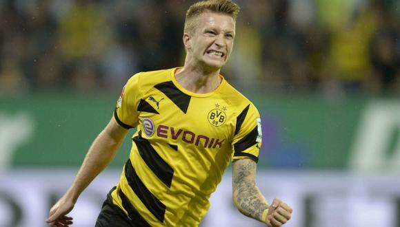 Reus es uno de los referentes del equipo. (AFP)