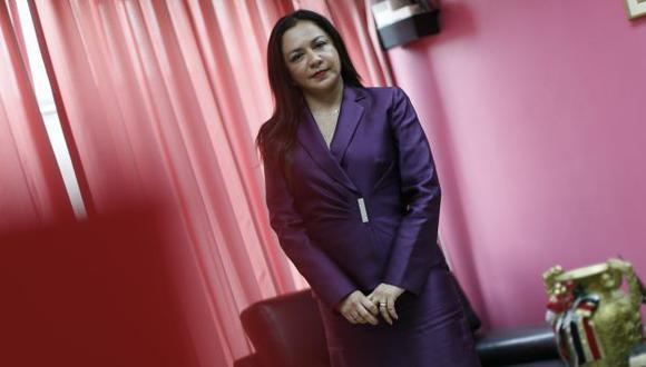 Marisol Espinoza Cruz. Vicepresidenta de la República y congresista. (Luis Gonzales)