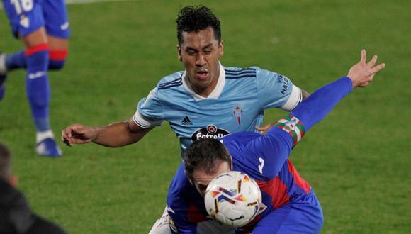 Tapia es el futbolista del Celta con más minutos en lo que va de LaLiga. (Foto: EFE)
