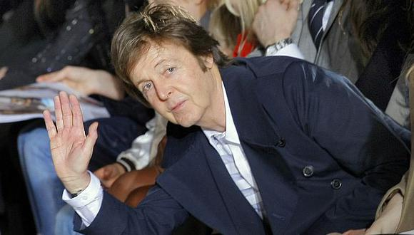 "Paul McCartney: ""Extraño mucho a John Lennon"". (AP)"
