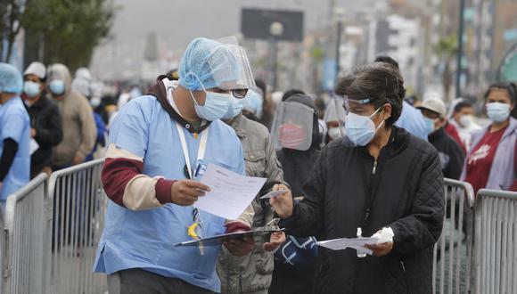 Las vacunas que se aplican en Perú requieren de dos dosis. (Foto: GEC)