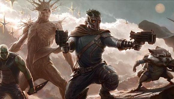 """Mostraron la primera imagen de """"Guardianes de la Galaxia"""" (Marvel.com)"""