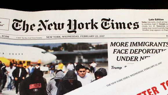 Tras los podcasts, The New York Times se lanza a la televisión con The Weekly. (Foto: EFE)