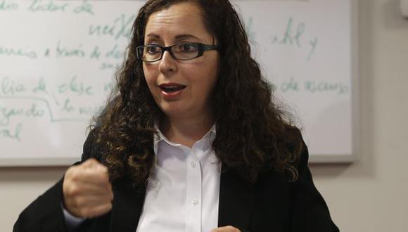 """""""En el caso del Ministerio de Educación, se trata de un acto de corrupción"""", dijo Bartra. (Perú21)"""