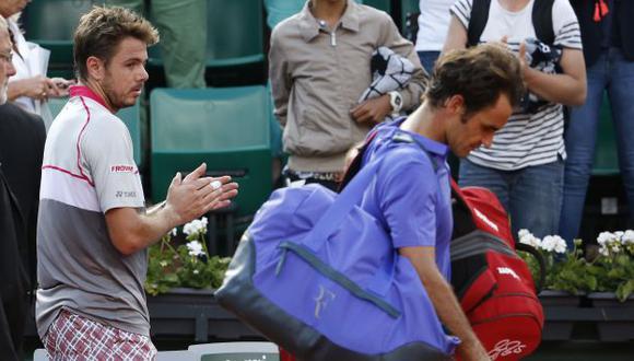 LO HIZO POLVO En duelo suizo, Wawrinka ganó en tres sets. (EFE)