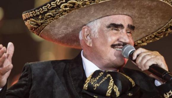 Fernández es considerado uno de los artistas más populares de México (Foto: Vicente Fernández / Instagram)