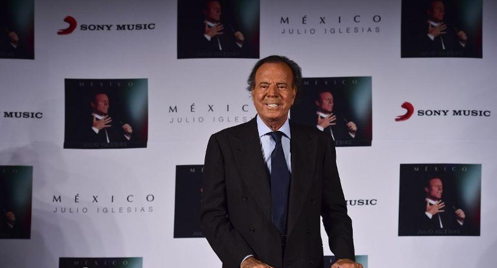 Javier Sánchez, busca que reconozcan la paternidad de Julio Iglesias. (Créditos: AFP)