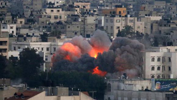 Ofensiva de Israel deja 68 muertos y 500 heridos en la Franja de Gaza. (AFP)