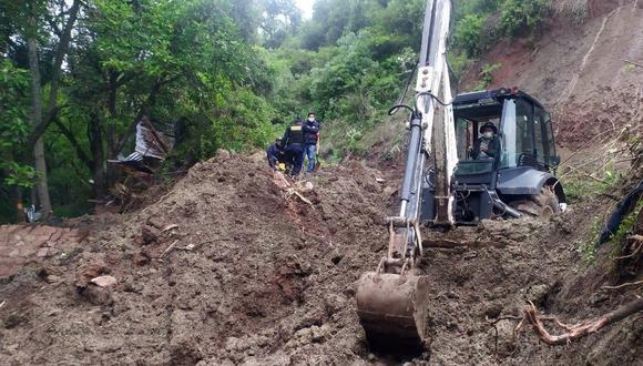 Cusco: Mujer de 71 años muere sepultada en su vivienda tras deslizamientos de tierra y huaicos (Foto: Difusión)