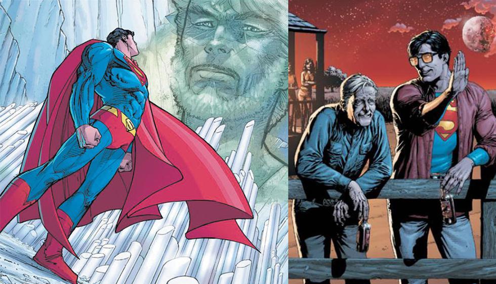 Jor-El y Jonathan Kent (DC Comics)