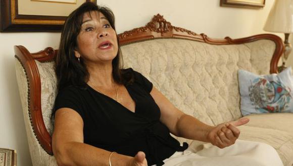 Martha Chávez la emprendió contra sus críticos. (Perú21)