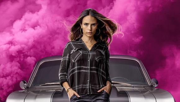 """La actrizapareció con su papel de Mia Toretto desde la primera entrega, en""""Rápido y furioso"""", estrenada en 2001 (Foto: Universal Pictures)"""