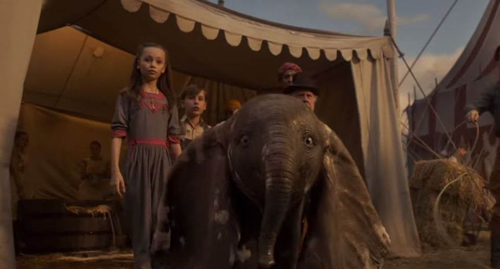 "La película ""Dumbo"" se estrenó originalmente en 1941.  (Foto: Captura de video)"