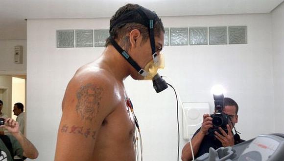 COMO CAÑÓN. Guerrero será presentado este lunes. (LANCE.NET)