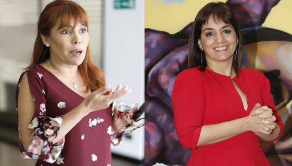 Magaly Medina y Patricia del Río no tienen formación académica en periodismo. (USI)