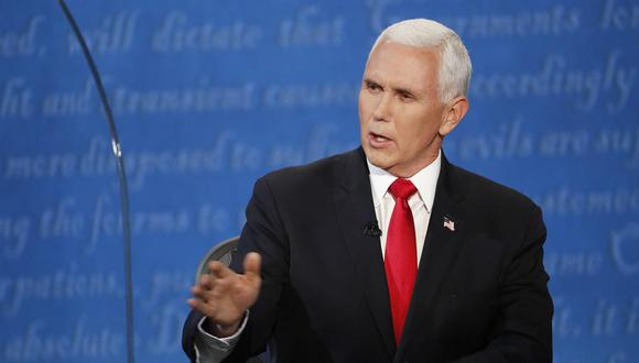 Vicepresidente de Estados Unidos, Mike Pence. (Foto: EFE/EPA/SHAWN THEW)