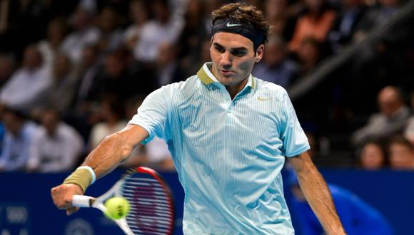 Roger Federer busca llegar al Masters. (AFP)