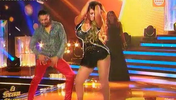 Melissa Klug sorprendió con canción de Yahaira Plasencia en 'El gran show'. (El gran show)