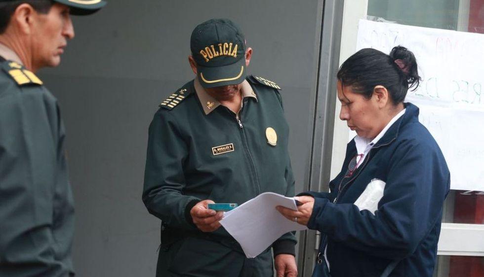 Las elecciones en el colegio Alfonso Ugarte. (Foto: Andina)