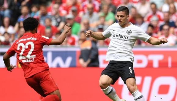 Luka Jovic regresa a la Bundesliga (Foto: Reuters)