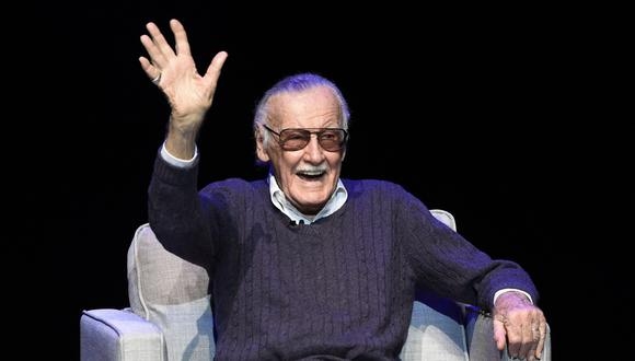Stan Lee, el creador de héroes emblemáticos como Spider-Man, Iron Man, Hulk, Thor y muchos más (AP).