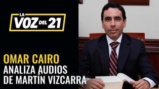 Omar Cairo analiza la difusión de audios sobre caso Richard Swing