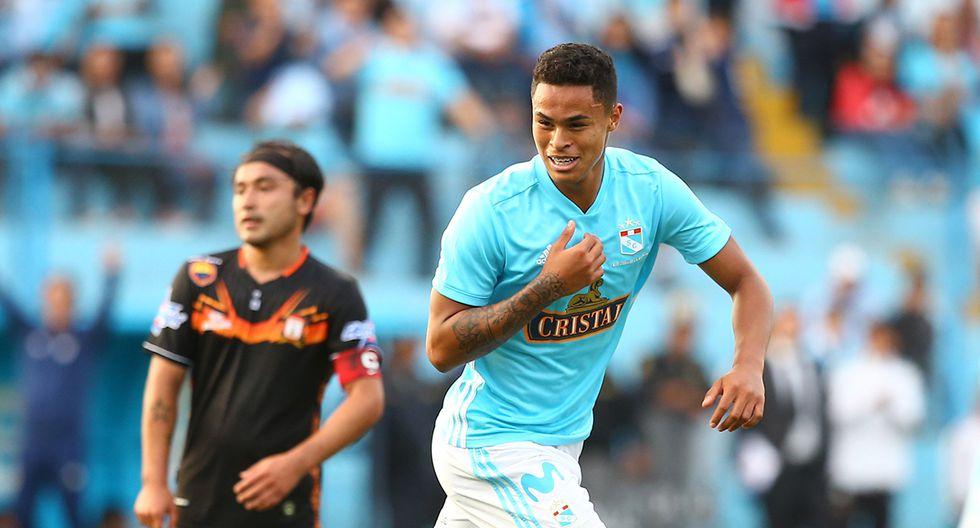 Christopher Olviares, delantero - 20 años / Sporting Cristal