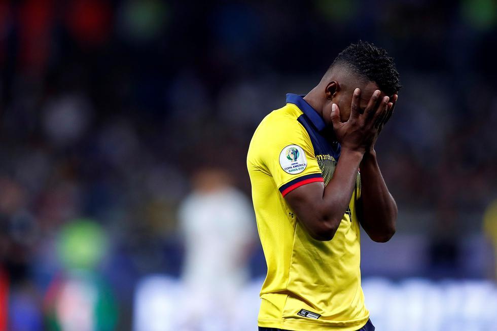 Ecuador empató 1-1 contra Japón y ambos quedaron fuera de la Copa América 2019. (EFE)
