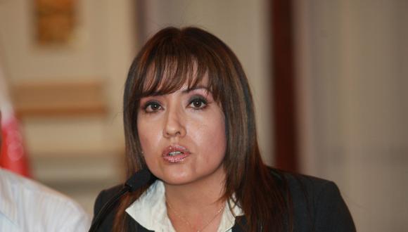 María Jara Risco, presidenta del Consejo Directivo de la Autoridad de Transporte Urbano para Lima y Callao (ATU). (FOTO GEC)