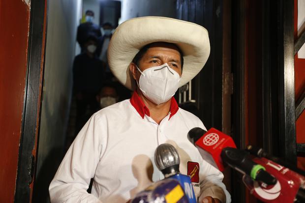 """""""El problema del Perú no pasa por individuos, el problema no pasa solo por ministerios"""", señaló Pedro Castillo. (Foto: Archivo/GEC"""
